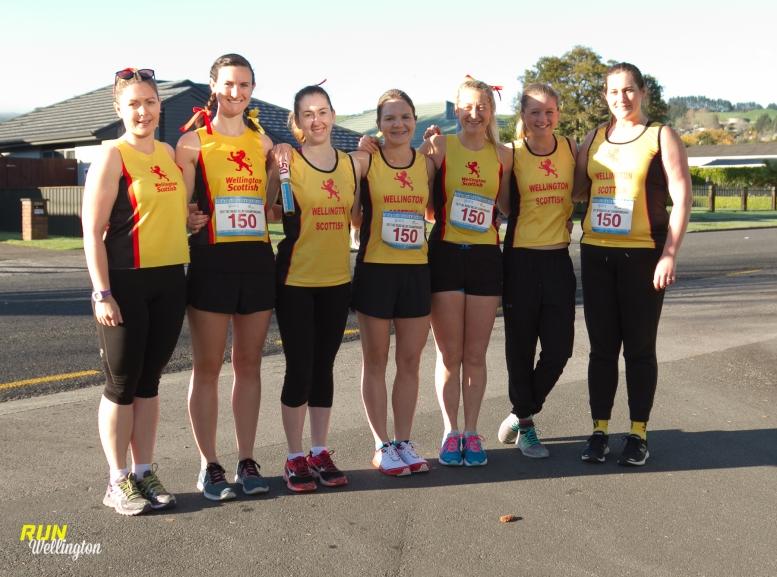 Wellington Scottish Women's B Team