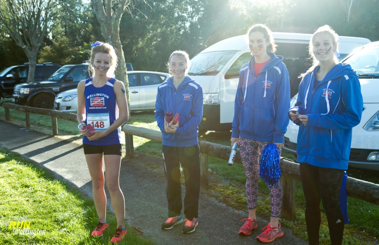 Wellington Harriers Senior Women's - Letha, Claudia, Andrea and Melissa